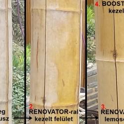 Bamboo Booster - színtelen ápoló olaj bambuszrúdhoz, 1 Liter