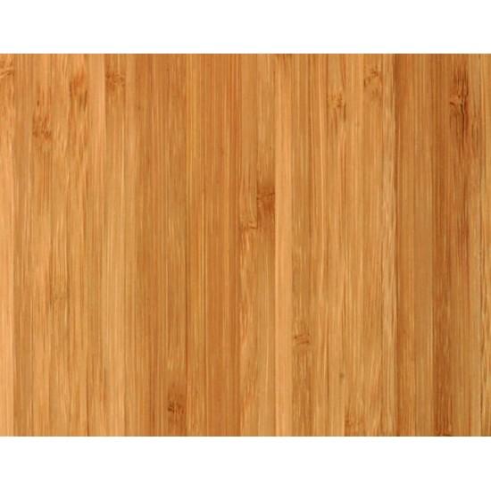 Bambusz vékonypanel: vertikális minta, kávébarna (gőzölt) szín, 3-rétegű 1200*600*7 mm