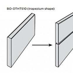 X-treme bambusz falburkolati elem (thermokezelt) 1850x128(137)x20 mm, kezeletlen