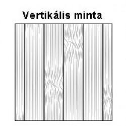Bambusz szegőléc, vertikális minta kávébarna, kezeletlen, 2000 x 50 x 15 mm