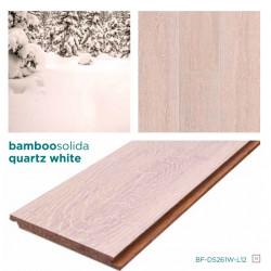 SOLIDA QUARTZ Click-es bambusz hajópadló, dombornyomott minta, lakkozott, 1830*135*14 mm/szál - 6 db-os doboz (1,482 m2)