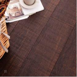 SOLIDA TOPÁZ barna Click-es bambusz hajópadló, fűrészelt minta, lakkozott, 1850*137*14 mm/szál - 6 db-os doboz (1,521 m2)