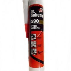 Dr. Schenk 590 - univerzális építési ragasztó, bézs szín, 300 ml-es